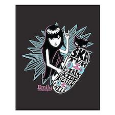 Skater Girl Small Poster