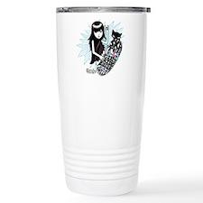 Skater Girl Stainless Steel Travel Mug