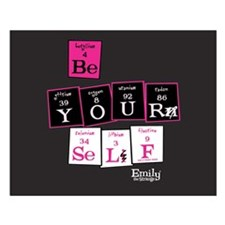 Be Yourself Small Poster