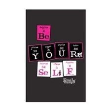 Be Yourself Mini Poster Print
