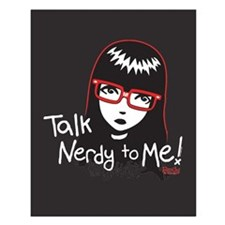 Talk Nerdy to Me Small Poster