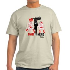 Be Your Own Hero Light T-Shirt