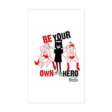 Be Your Own Hero Stickers