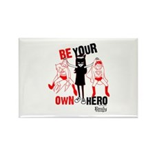 Be Your Own Hero Rectangle Magnet