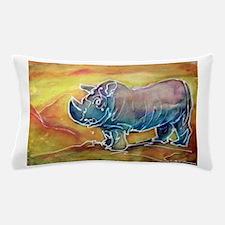 Rhinoceros! wildlife art! Pillow Case