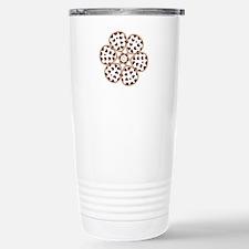 Love Blooms Stainless Steel Travel Mug