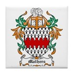 Mathers Coat of Arms Tile Coaster