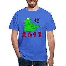 Funny Chinese Zodiac Snake 2013 T-Shirt