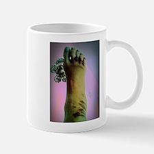 zombie foot Mug