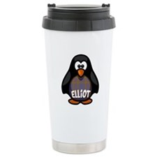 Elliot Tartan Penguin Travel Mug