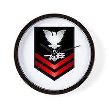 Navy PO2 Special Warfare Operator Wall Clock