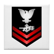 Navy PO2 Special Warfare Operator Tile Coaster