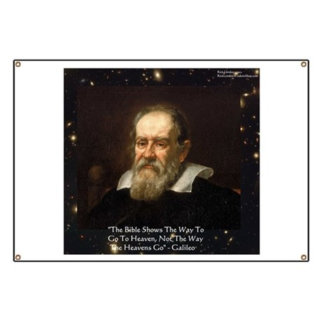 Galileo The Bible Shows Quote Gifts Banner