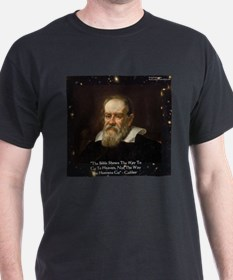 Galileo The Bible Shows Quote Gifts T-Shirt