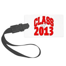 Class of 2013 (red2) Luggage Tag