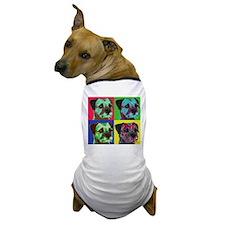 Pop Art Border Terrier Dog T-Shirt