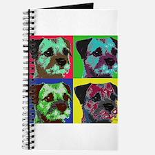 Pop Art Border Terrier Journal