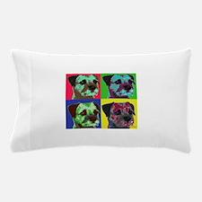 Pop Art Border Terrier Pillow Case