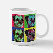 Pop Art Border Terrier Mug