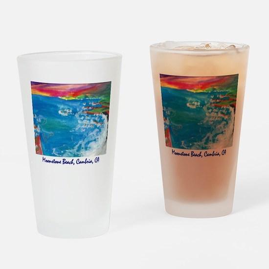 Moonstone Beach Cambria 700.jpg Drinking Glass