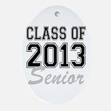 Class of 2013 Senior Ornament (Oval)