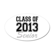 Class of 2013 Senior Wall Decal
