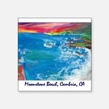Moonstone Beach Cambria 700.jpg Square Sticker 3""