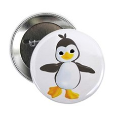 "Penguin Dance 2.25"" Button (100 pack)"