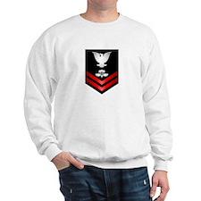 Navy PO2 Aircrew Survival Equipmentman Sweatshirt