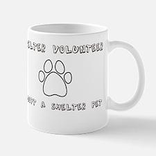 Animal Shelter Volunteer Mug