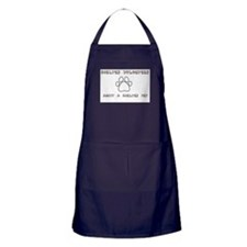 Animal Shelter Volunteer Apron (dark)