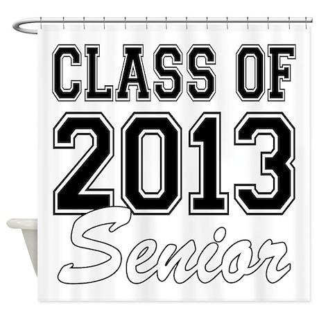 Class of 2013 Senior Shower Curtain