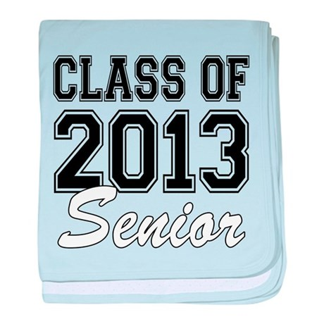 Class of 2013 Senior baby blanket