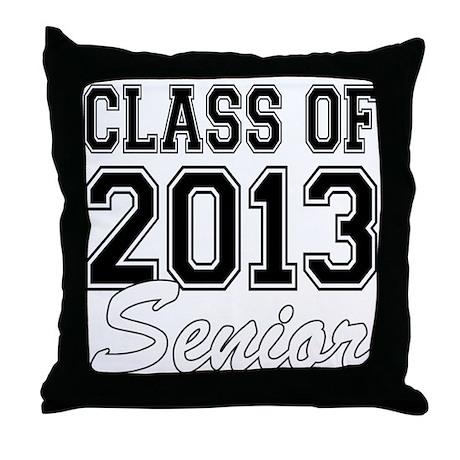 Class of 2013 Senior Throw Pillow