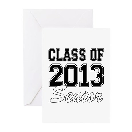 Class of 2013 Senior Greeting Cards (Pk of 10)