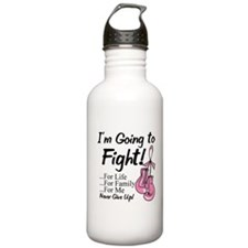 Going to Fight Breast Cancer Water Bottle