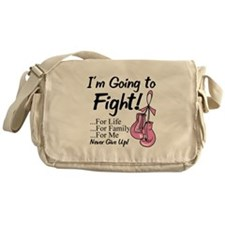 Going to Fight Breast Cancer Messenger Bag