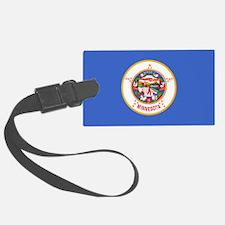 Minnesota State Flag Luggage Tag