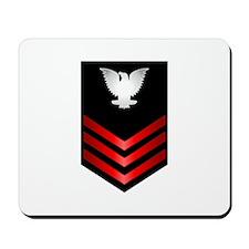 Navy Petty Officer First Class Mousepad