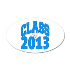 Class of 2013 (blue) Wall Decal