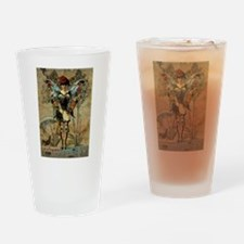 Take your wings and fly Drinking Glass