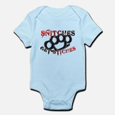 Snitches Get Stiches Infant Bodysuit