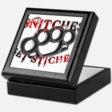 Snitches Get Stiches Keepsake Box