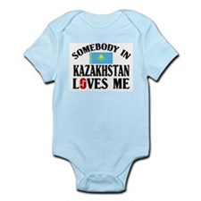 Somebody In Kazakhstan Infant Creeper