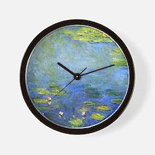 Monet - Lilies 1906 Wall Clock