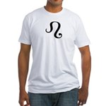 Leo Symbol Fitted T-Shirt