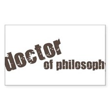 Doctor of Philosophy Decal
