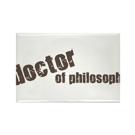 Doctor of Philosophy Rectangle Magnet