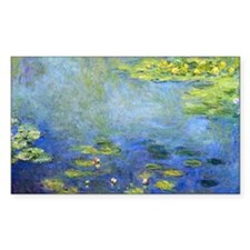 Monet - Lilies 1906 Decal