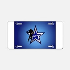 Dallas Aluminum License Plate